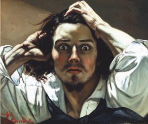 Courbet - Portrait de P.Ansout