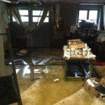 Après l'inondation